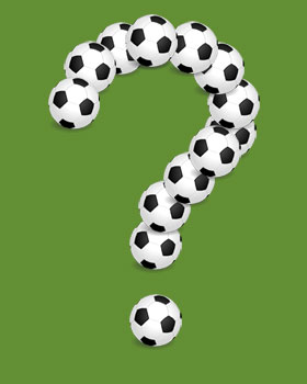 Soccer Question Mark